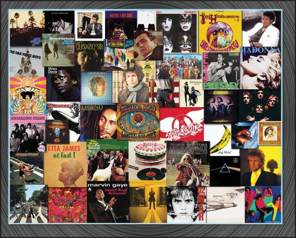 Great album covers puzzle