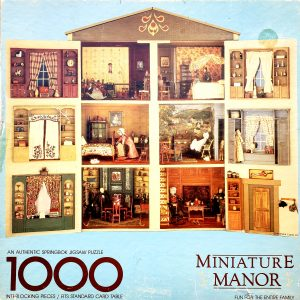 Miniature Manor puzzle for fun