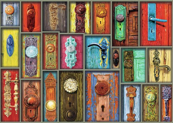 Antique Doorknobs 1000 piece puzzle