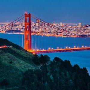 San Francisco Golden Gate Bridge puzzle 1000 pieces