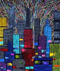 1000 piece puzzle cityscape