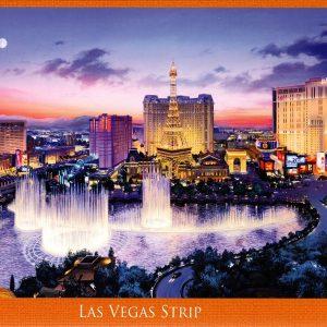Las Vegas Strip 1000 piece puzzle