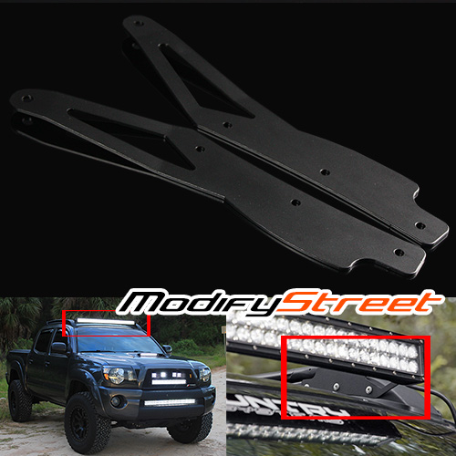 For 2005 2015 toyota tacoma roof rack 40 curved led light bar image is loading for 2005 2015 toyota tacoma roof rack 40 aloadofball Images