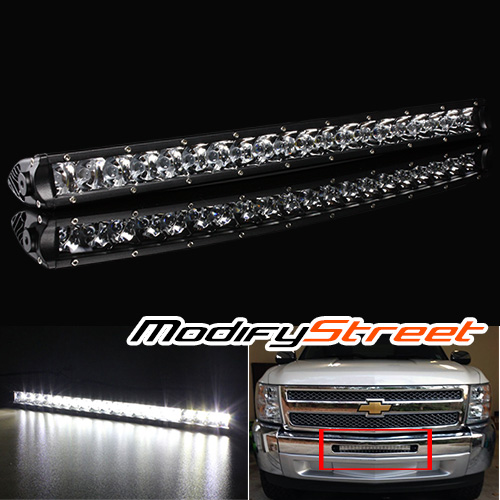 20 100w 7200lm single row cree offroad led light bar work lamp atv image is loading 20 034 100w 7200lm single row cree offroad aloadofball Choice Image