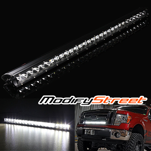 30 150w 12000 lumen cree led off road single row slim light bar atv image is loading 30 034 150w 12000 lumen cree led off aloadofball Gallery