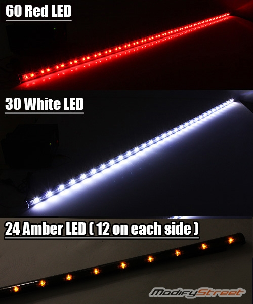 60 6 functions led tailgate light bar brakerunningreversesignal 60 034 6 functions led tailgate light bar aloadofball Choice Image