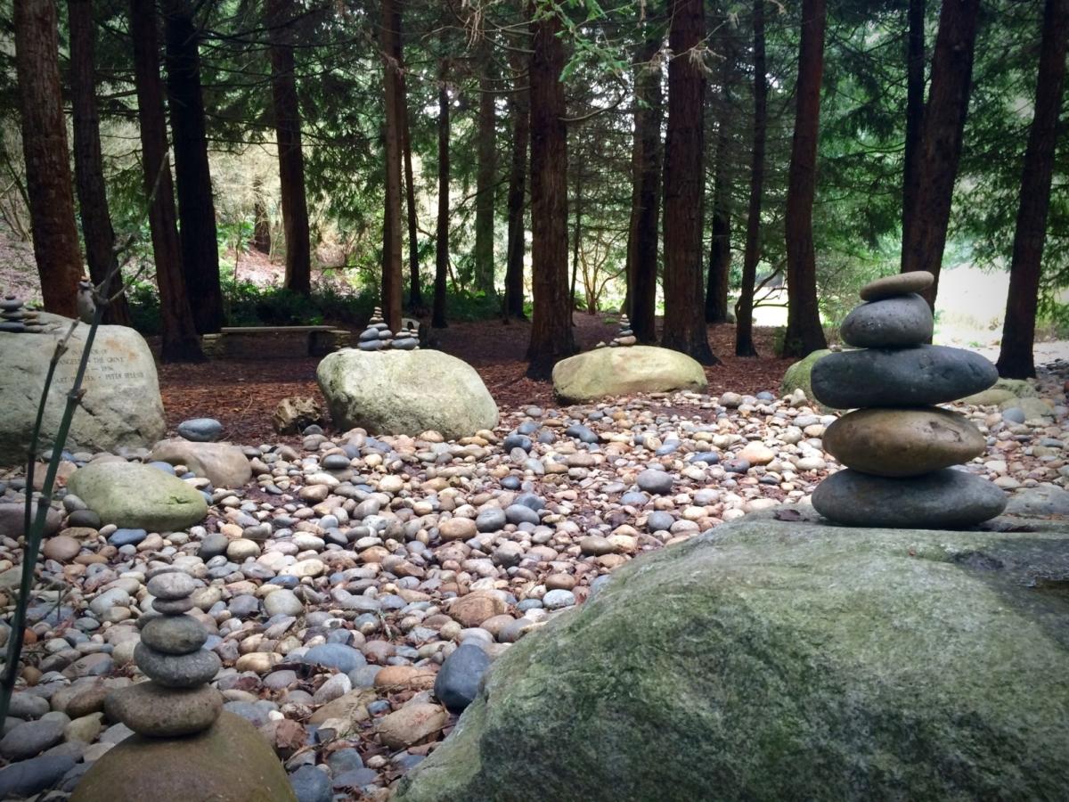 A stream of stone.