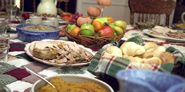 A Thanksgiving Feast from the Year 1900