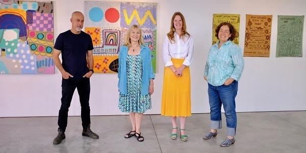 Work It: Gallery Director Ann Hazels