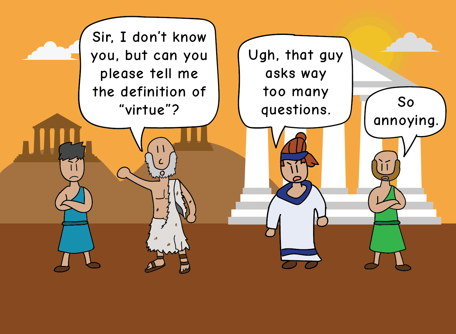 Socrates: The Badass Godfather of Uncertainty