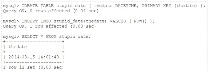 Find the Best Approach for Entering Dates in MySQL Databases