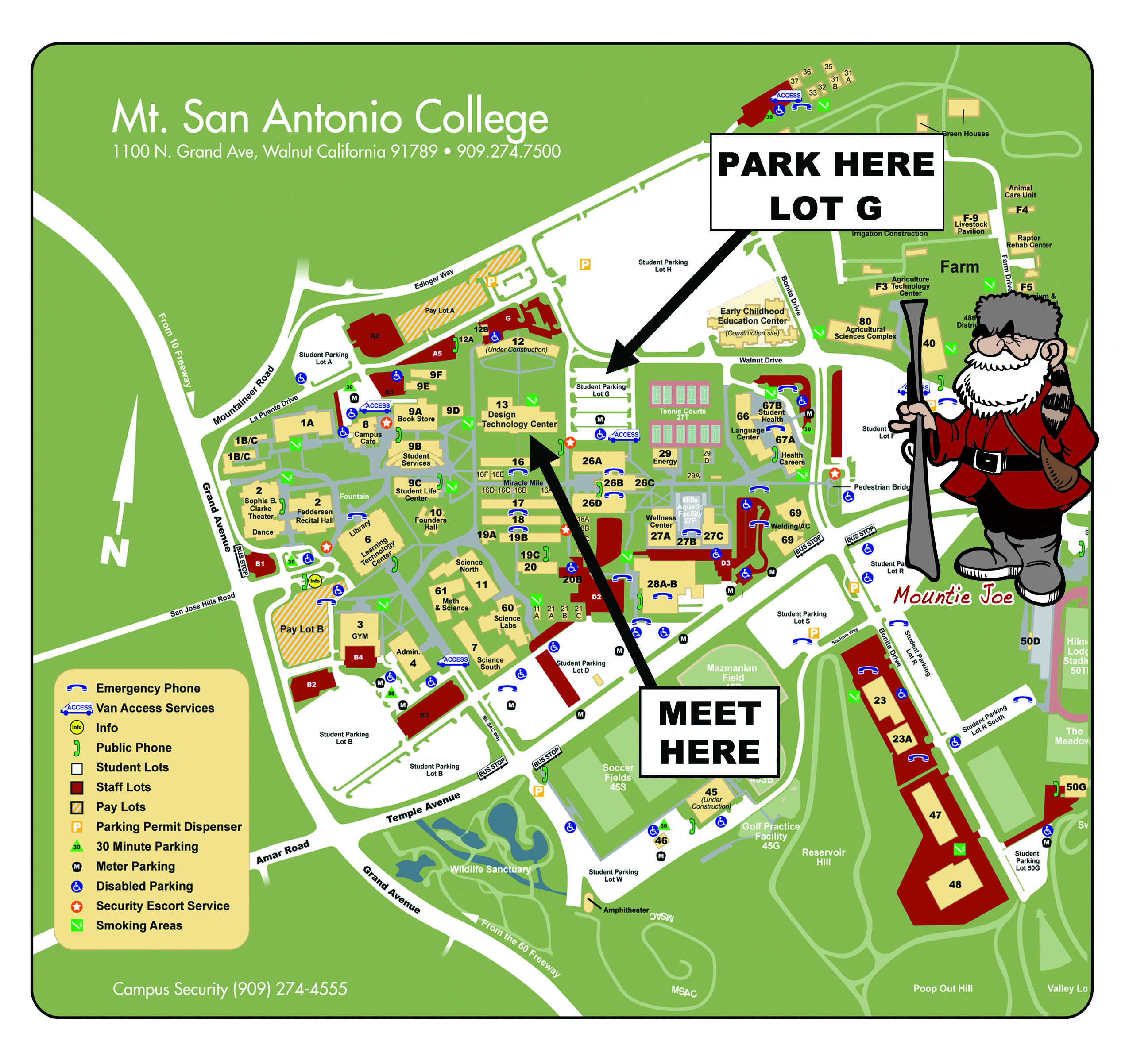 Mt. SAC New Student Welcome parking 2013
