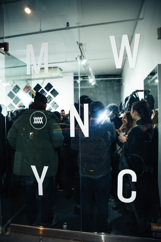 Mission Workshop NYC Pop-up shop opening party march 2017