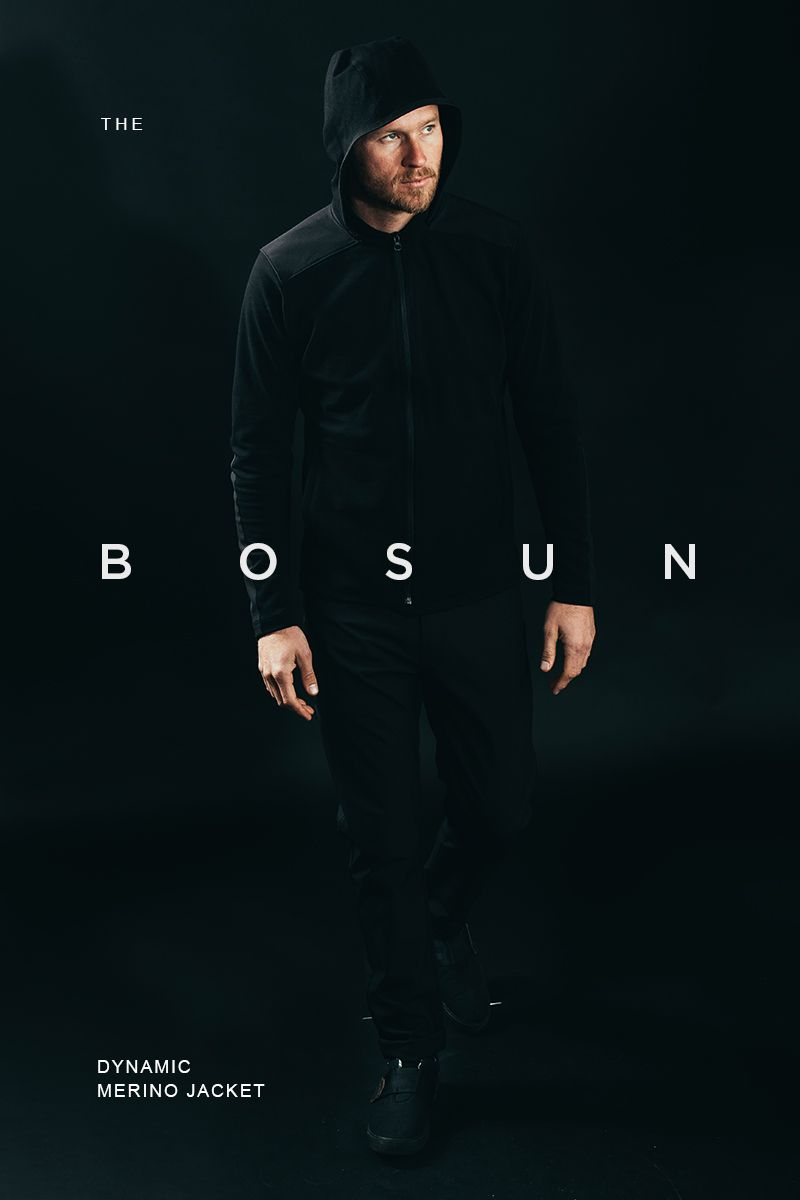 The Bosun Dynamic Hooded Wool Jacket