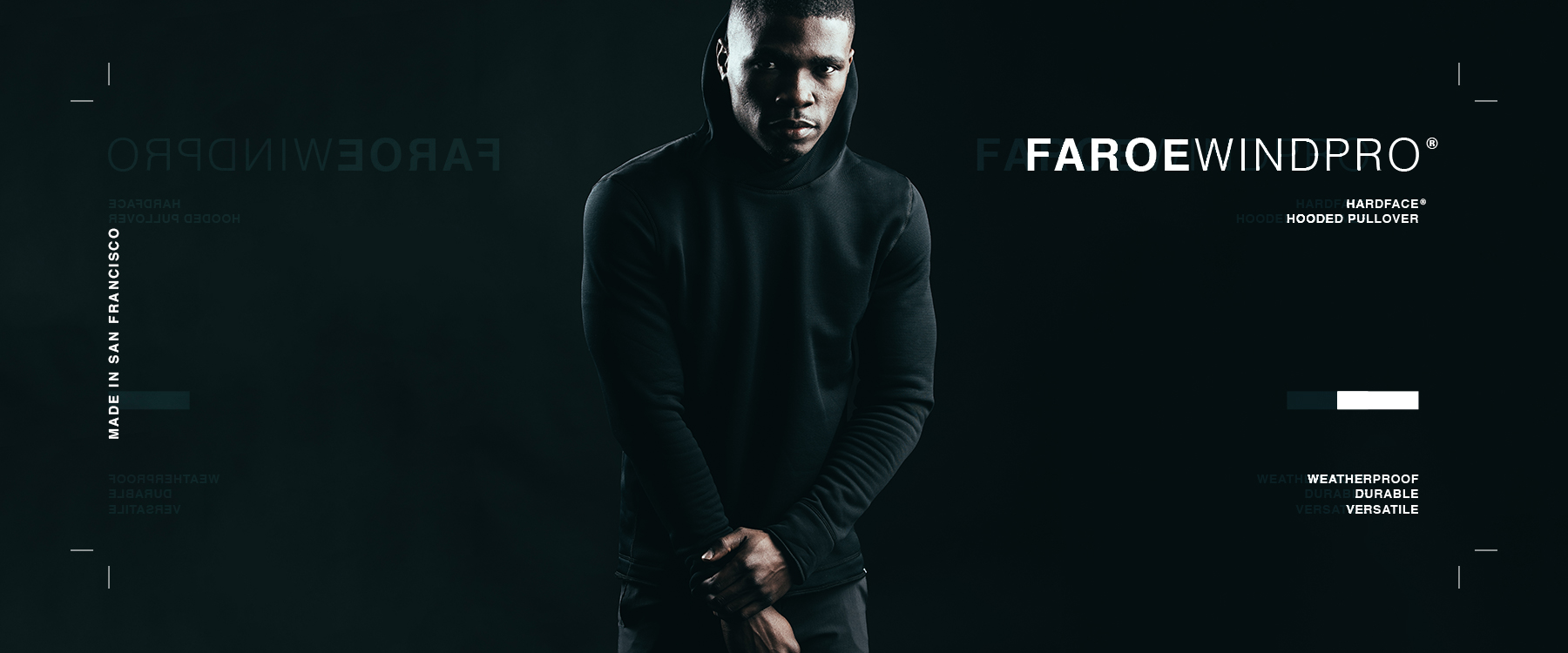 The Faroe : Wind Pro Hardface Hooded Pullover