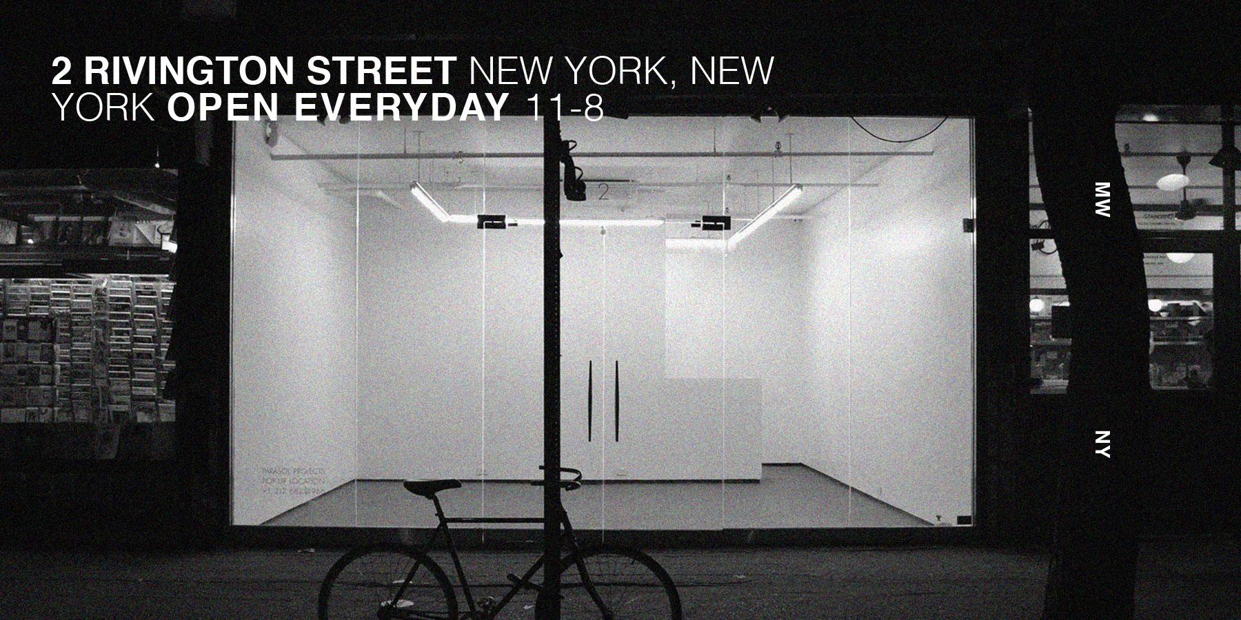 Mission Workshop New York City Pop-up March 2017