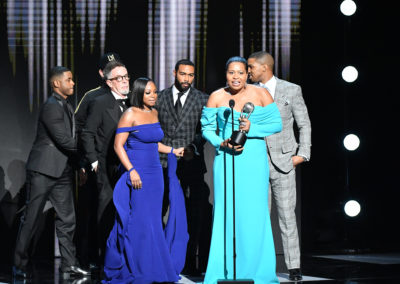 Power Receives the Award for Outstanding Drama Series