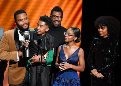 Black-ish Receives Award For Outstanding Comedy Series