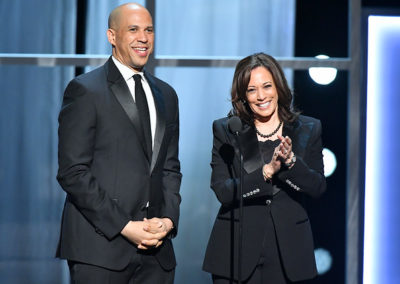 Sen. Kamala Harris and Sen. Corey Booker Deliver a Message