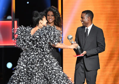 Tracee Ellis Ross Receives Award for Best Actress in a Comedy Series.