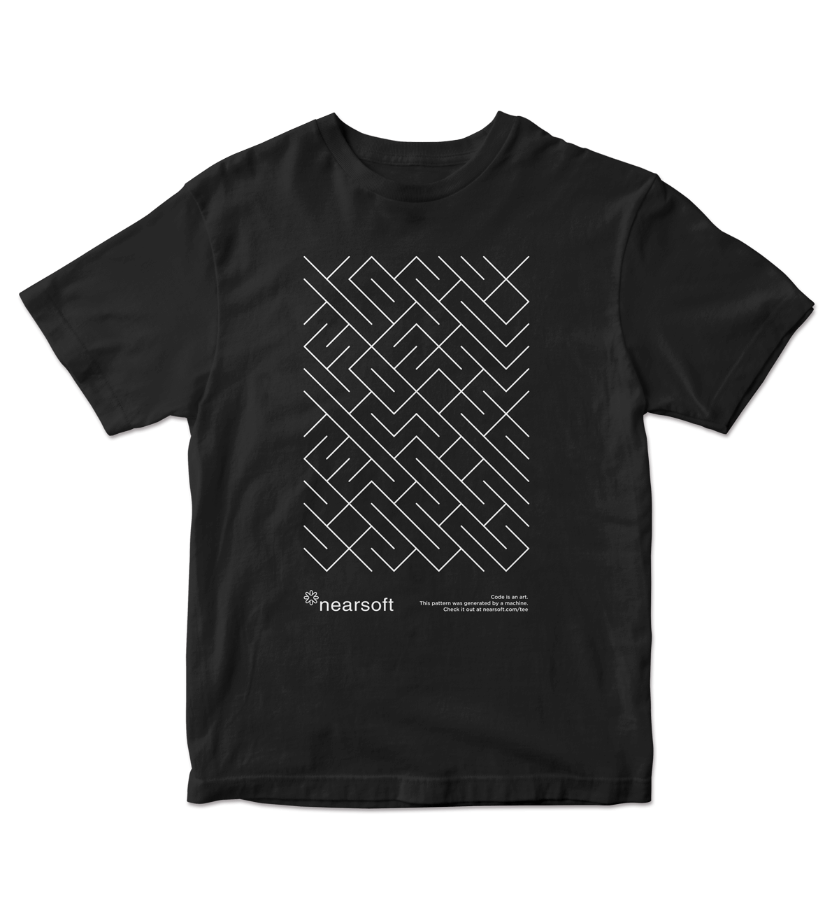 Nearsoft Code Tee - Black