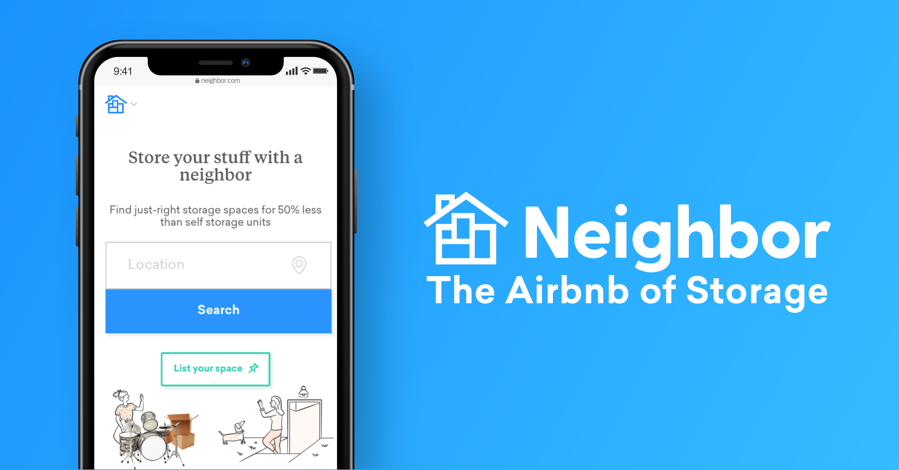 Neighbor | Airbnb of Storage | Affordable & Secure Storage