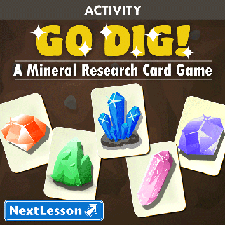Go Dig! A Mineral Research Card Game