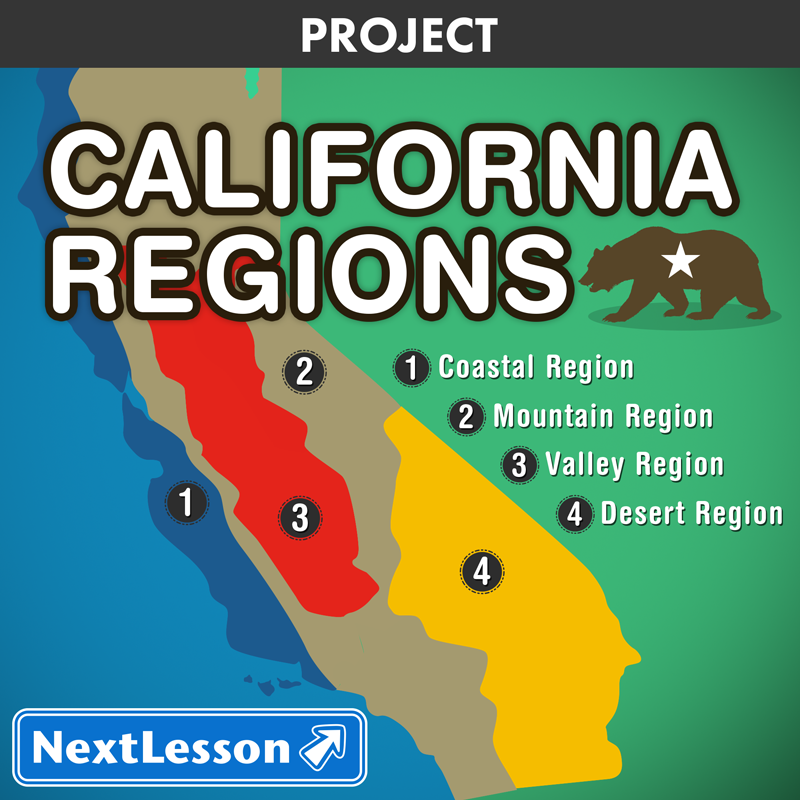 California Regions Nextlesson