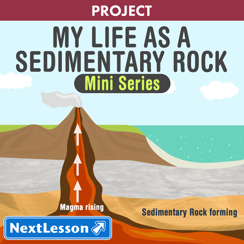 my life as a sedimentary rock | nextlesson