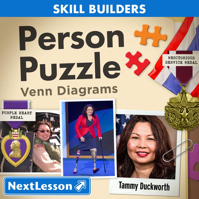 Person puzzle venn diagram tammy duckworth nextlesson person puzzle venn diagram tammy duckworth ccuart Choice Image