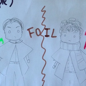 Learn about foil in Hamlet.