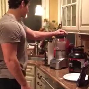 Learn how to make a high protein smoothie.