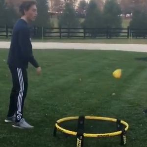 Learn how to play spikeball.