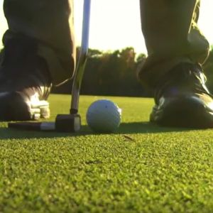 Learn how to putt.