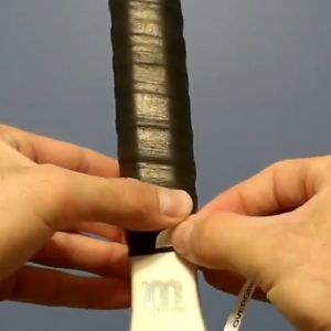 Learn how to regrip a tennis racket.