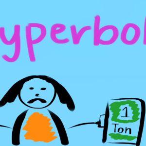 Learn about hyperbole.