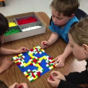 Learn about rotational symmetry using Lego.