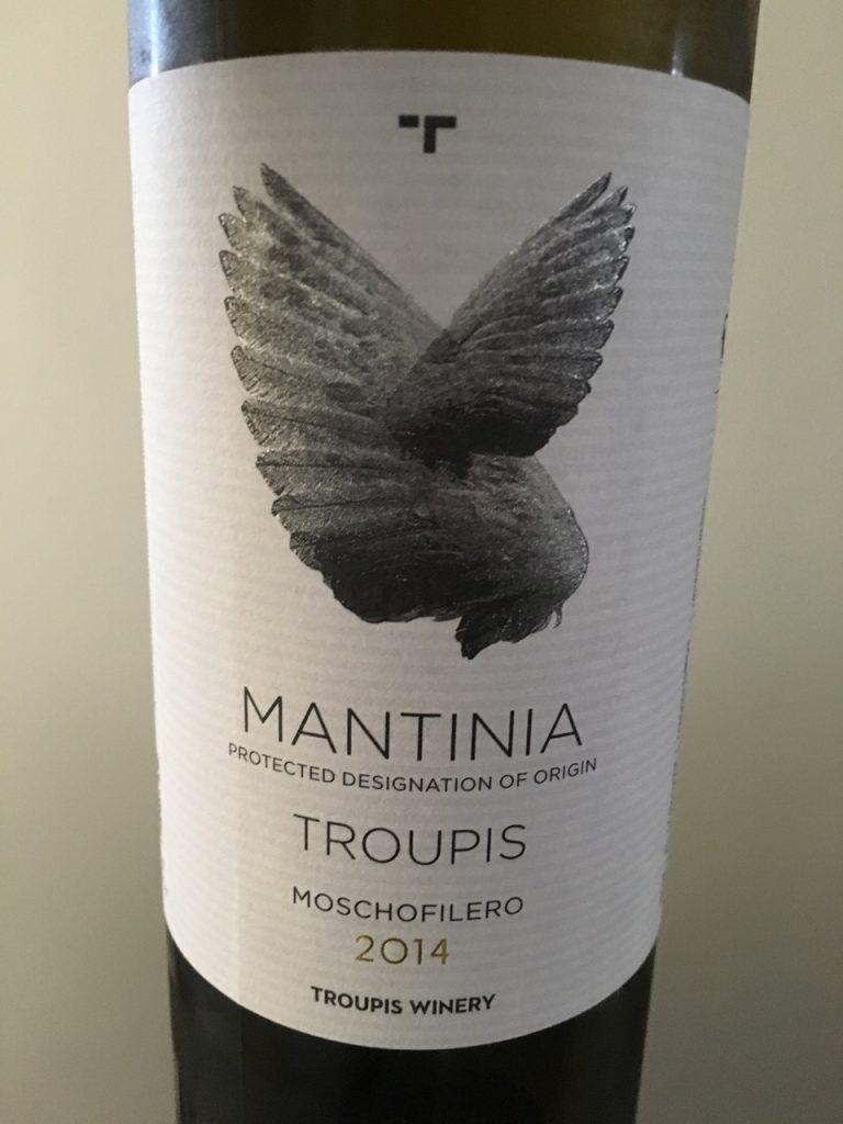 Troupis 2014 Mantinia Moschofilero, Greece