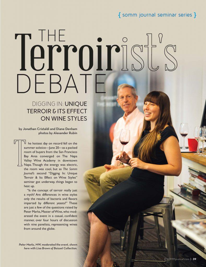 Terroirist's Debate: Digging Into Unique Terroir