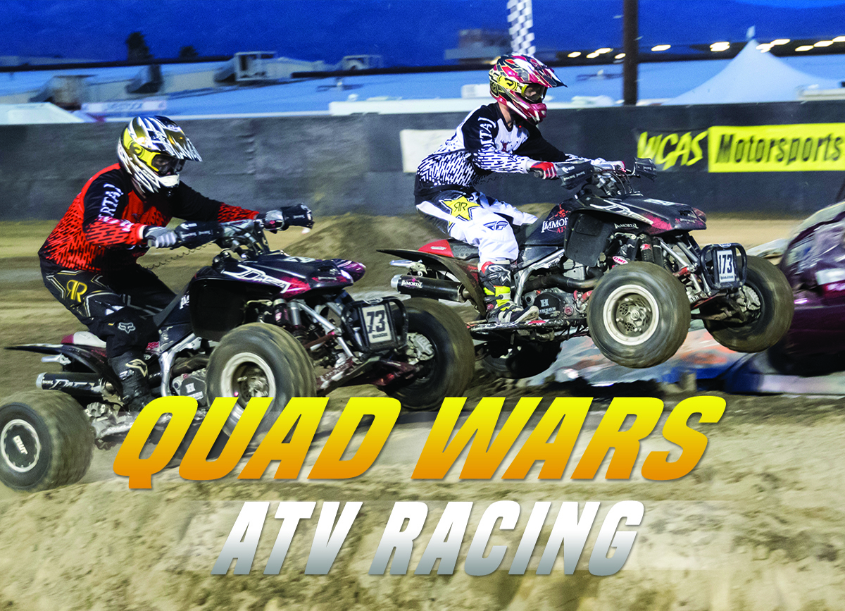 Quad Wars ATV Racing + Rider Lawn Mower Racing (Prelims