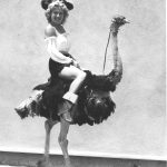 Pirate Queen and Ostrich. Year: 1951