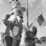 Clown and Dog. Year: 1985