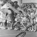 Skateboard Mom. Year: 1990s
