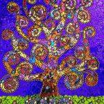 Tree of Life Mosaic by Anna Miranda