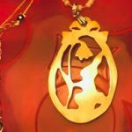 The Bunny Egg Necklace by Sarely Mujica