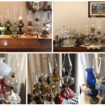 Vintage Oil Lamp Collection by LouEtta Lacher