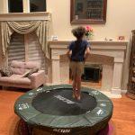 Trampoline Fun by Dianna Sundell