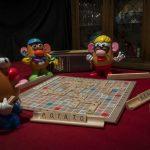 Pandemic Scrabble with Friends by Linda Detwiler Burner