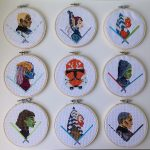 Clone Wars Cross Stitches by Paige Murray
