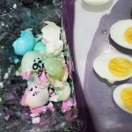 Easter Eggs Into Deviled Eggs by Julissa Salamanca